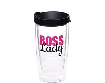 Boss Lady - Boss Lady Cup - Gift for Boss - Boss Tumbler - Gift for Her - Boss Appreciation - Manager Gift - Supervisor Gift - Boss Lady Mug