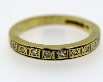 Vintage 18ct Gold Diamond Eternity Ring - 20% OFF SALE