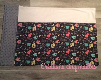 Pillowcase pillow / soft minky