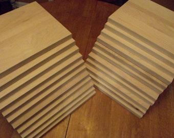 """Wholesale 100 of the highest quality Hard Maple cutting boards.  Perfect for laser engravers.  Over 3/4"""" thick.  100 board minimum quantity."""