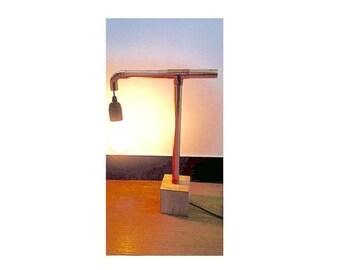 """Rob's"" copper table lamp | Copper table lamp ""Rob's"""