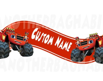 Blaze and the Monster Machines Decal Room Decor - Custom