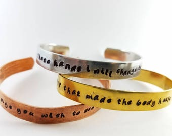 Chiropractic Affirmations 3 Cuff Set