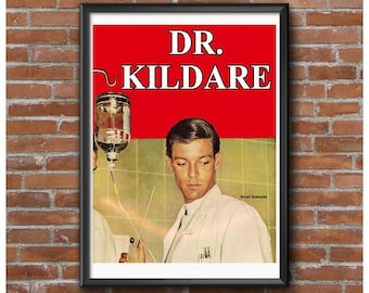 Dr. Kildare Tribute Poster – Richard Chamberlain 1960's Television Show Doctor