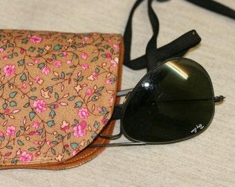 Free Shipping,Fabric Glasses Case, Handmade Glasses Case, Glasses  Pouch , Cotton Glasses  Pouch,