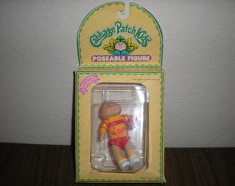 1984 Cabbage Patch Kids Poseable FiguresBoy Holding football 2nd Edition