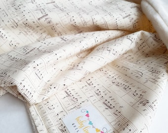 Composer Baby Blanket  // Car seat blanket // Stroller Blanket // Baby Shower Gift