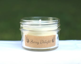Berry Delight Handpoured Soy Candle