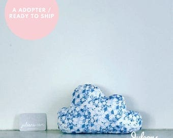 Adopt: cloud pillow liberty mitsi - 3 colors (shipment within 2 days) - size S - birthday gift personalized