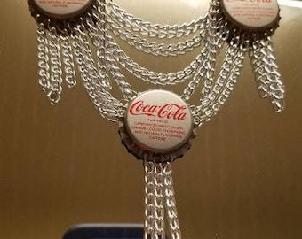 Replica Coca Cola Bottle Cap Necklace (Confessions Of A Teenage Drama Queen)