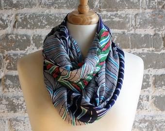 Ramona Botanical Silk Scarf