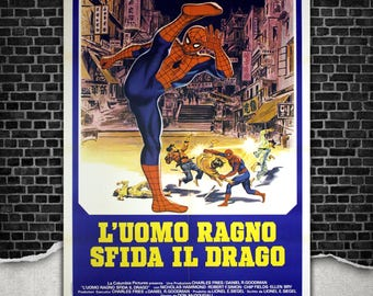 Spiderman The Dragon's Challenge - Size: 100x140 CM