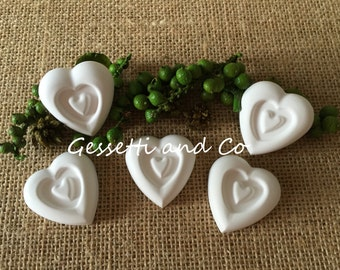 50 scented hearts favor Chalks, place cards, wedding, anniversary