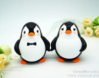 Penguin Wedding Cake Toppers-Love Bird Wedding Cake Toppers-Cheap Wedding Cake Toppers