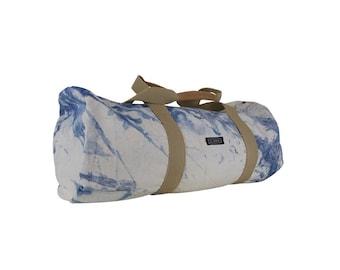 Canvas duffle bag, travel bag, sports bag, beach bag