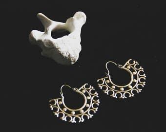 Bronze Earrings - Ethnic - Gypsy - Tribal - Travel - Inspiration - Design - Boho -