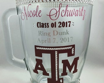 Bling! Pitcher - Aggie Ring Dunk