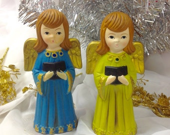 ARDCO CHIOR CHRISTMAS FIgures 7.5 in tall Japan