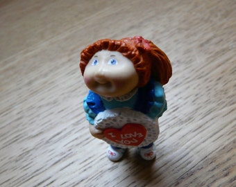Cute Vintage Valentine Cabbage Patch - 80s - Carinissima Cabbage Patch di San Valentino