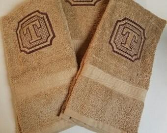 Embossed Towels Etsy