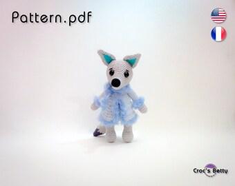 Pattern - Kyloup the Mélusine's Wolf