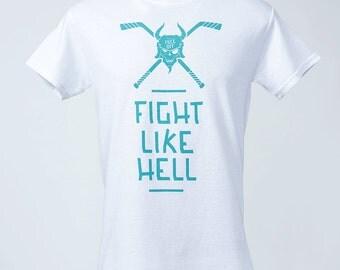 Se battre comme lumière blanche T-Shirt