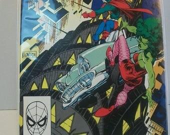 1990 The Sensational She-Hulk #11 The Adventures Of Pseudoman VF-NM Vintage  Marvel Comic Book