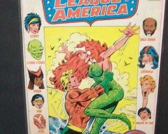 1984 Justice League Of America #242 Aquaman, Mera, Vixen Martian Manhunter, Vibe Original On Cover  Unread VF-NM Vintage DC Comic Book