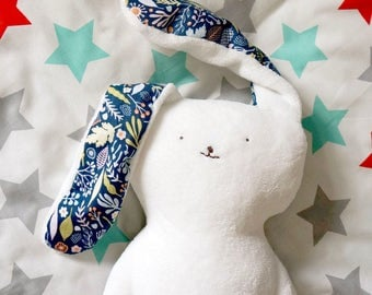 Bunny plush, Bunny toy, handmade rabbit toy, easter bunny rabbit-stuffed animal, Baby body pillow, easter gifts for kids