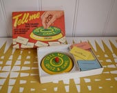 Splendid Vintage Spears Tell Me Game  Retro  60s toys