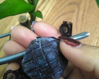 Dead in the water~ Turtle Shell necklace