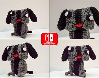 Switch Pup Crocheted Amigurumi