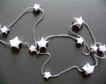 Origami Sterne Girlande