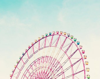 Ferris Wheel, digital download, Instant download, Printable, magnets, vintage wedding, wedding cards, scrapbooking, gift tags