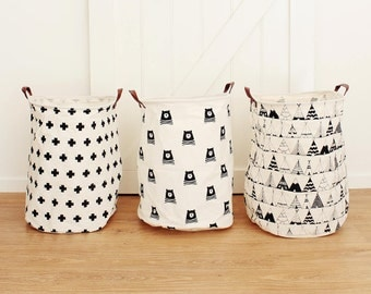 Swiss Cross Extra Large Canvas Storage Bags