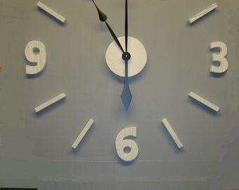 Giant wall clock Etsy