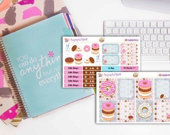 Donuts Planner Sticker Set (Sugar Collection)