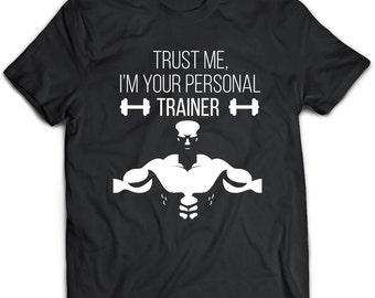 Personal Trainer T-Shirt. Personal Trainer tee present. Personal Trainer tshirt gift idea. - Proudly Made in the USA!