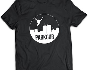 Parkour T-Shirt. Parkour tee present. Parkour tshirt gift idea. - Proudly Made in the USA!