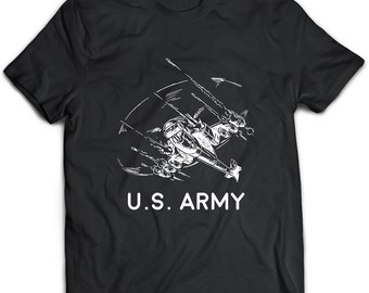 Army Helicopter T-Shirt. Army Helicopter tee present. Army Helicopter tshirt gift idea. - Proudly Made in the USA!