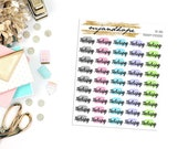 Therapy Stickers | OT 004 | Planner Stickers | Traveler's Notebook Stickers |
