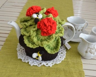 Geranium Tea Cosy