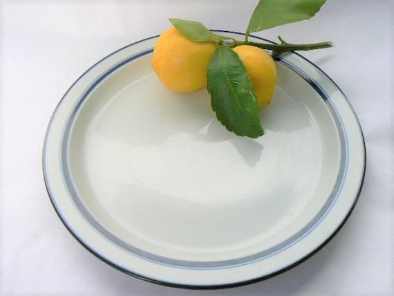 One Dansk Bistro Dinner Plate White Ceramic Christianshavn