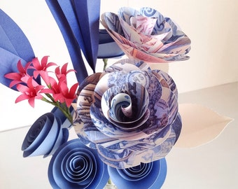 China Blue Bouquet