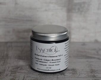 Turmeric / Ginger /Rosemary Herbal extract No 4 for acne scars skin rash 120 ml