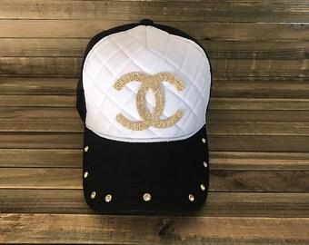 Black Trucker Hat, Trucker Caps, Rhinetone Hats, Rhinestone Caps,Trucker Hats, Rhinestone Hats,Trucker Hat, Hats, Women's Hats