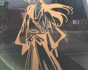 kenshin himura Anime Character Sticker Vinyl decal