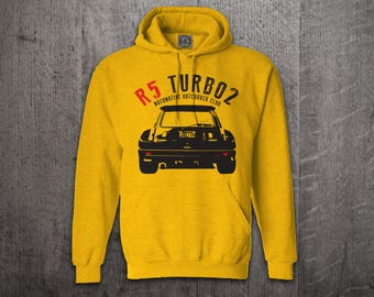Renault hoodie, Cars hoodies, Renault 5 turbo hoodies, Graphic hoodies, funny hoodies, Cars t shirts, Rally car shirts, Renault turbo shirts
