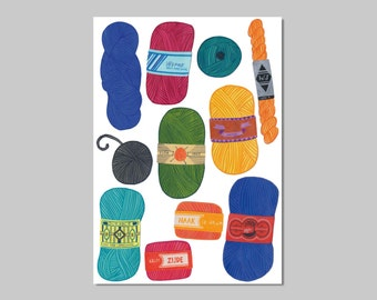 Wool print