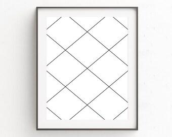 Modern Large Print, Minimal Poster Print, Poster, Large Abstract Decor, Extra Large Art, Minimalist Poster, Geometric Art Poster, Wall Decor